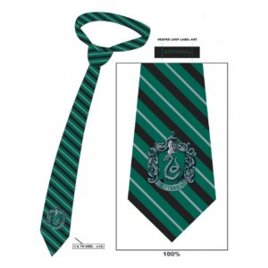 HARRY POTTER SLYTHERIN STRIPED TIE