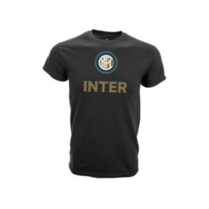 INTER MILAN BLACK T-SHIRT