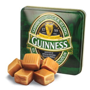 GUINNESS LABEL LUXURY FUDGE TIN