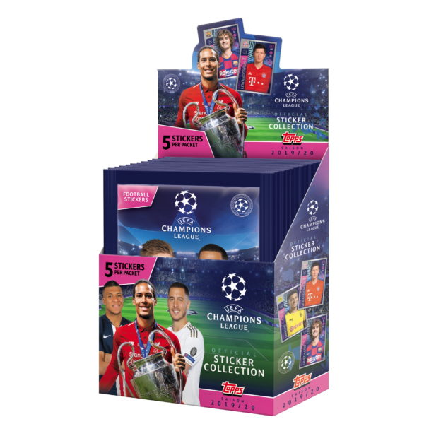 BUY 2019-20 TOPPS CHAMPIONS LEAGUE STICKERS BOX IN WHOLESALE ONLINE