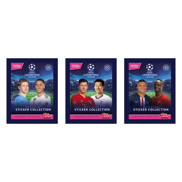 BUY 2019-20 TOPPS CHAMPIONS LEAGUE STICKERS IN WHOLESALE ONLINE