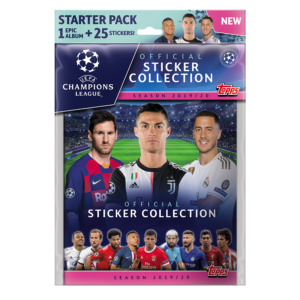 BUY 2019-20 TOPPS CHAMPIONS LEAGUE STICKERS STARTER PACK IN WHOLESALE ONLINE