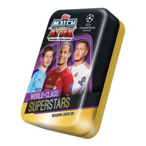 BUY 2019-20 TOPPS MATCH ATTAX CHAMPIONS LEAGUE CARDS MEGA TIN IN WHOLESALE ONLINE
