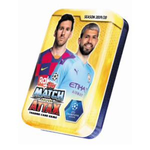 BUY 2019-20 TOPPS MATCH ATTAX CHAMPIONS LEAGUE CARDS MINI TIN IN WHOLESALE ONLINE
