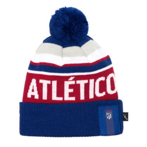 BUY ATLETICO MADRID KNIT POM BEANIE IN WHOLESALE ONLINE