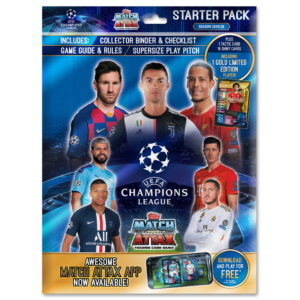 BUY 2019-20 TOPPS MATCH ATTAX CHAMPIONS LEAGUE CARDS STARTER PACK IN WHOLESALE ONLINE