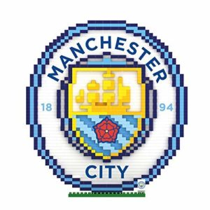 MANCHESTER CITY BRXLZ 3D CLUB CREST CONSTRUCTION KIT