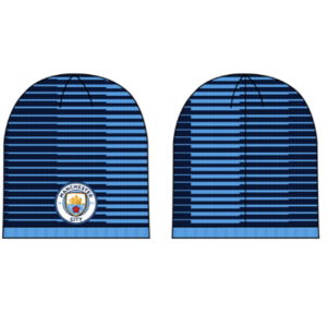 BUY MANCHESTER CITY REVERSIBLE BEANIE IN WHOLESALE ONLINE