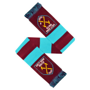 WEST HAM UNITED BAR SCARF