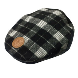GUINNESS PLAID TWEED FLAT CAP