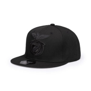 BUY BENFICA BLACK FLAT PEAK SNAPBACK HAT IN WHOLESALE ONLINE