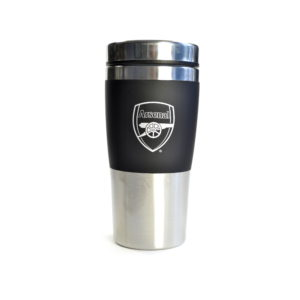 BUY ARSENAL STAINLESS STEEL TRAVEL MUG IN WHOLESALE ONLINE
