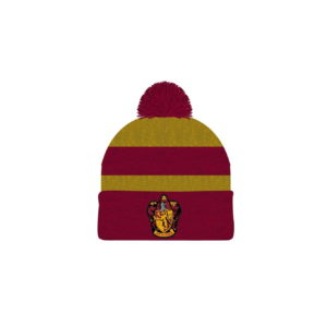 HARRY POTTER GRYFFINDOR MARLED STRIPED BEANIE