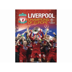 LIVERPOOL CHAMPIONS OF EUROPE BOOK