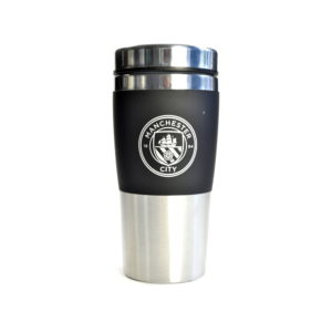 BUY MANCHESTER CITY STAINLESS STEEL TRAVEL MUG IN WHOLESALE ONLINE