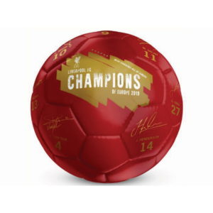 LIVERPOOL 209 CHAMPIONS SIGNATURE BALL