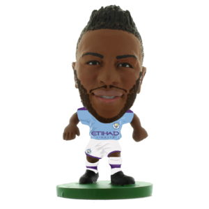 MANCHESTER CITY RAHEEM STERLING 2020 HOME KIT SOCCERSTARZ