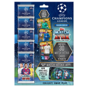 BUY 2019-20 TOPPS MATCH ATTAX CHAMPIONS LEAGUE CARDS MULTI-PACK SET IN WHOLESALE ONLINE