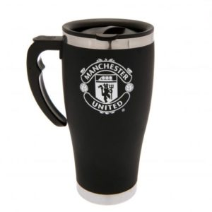 MANCHESTER UNITED HANDLE EXECUTIVE TRAVEL MUG