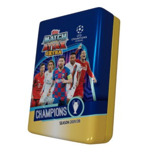 BUY 2019-20 TOPPS MATCH ATTAX EXTRA CHAMPIONS LEAGUE CARDS MEGA TIN IN WHOLESALE ONLINE