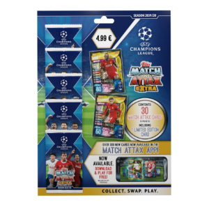 BUY 2019-20 TOPPS MATCH ATTAX EXTRA CHAMPIONS LEAGUE CARDS MULTI-PACK IN WHOLESALE ONLINE