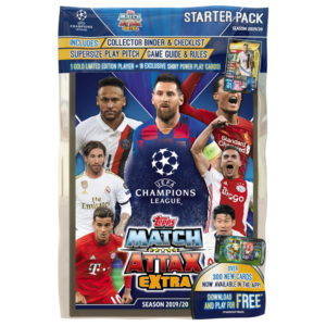 BUY 2019-20 TOPPS MATCH ATTAX EXTRA CHAMPIONS LEAGUE CARDS STARTER PACK IN WHOLESALE ONLINE