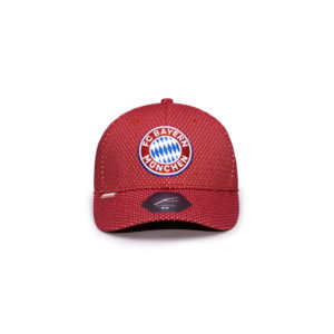 BUY BAYERN MUNICH PREMIUM RED STRETCH BASEBALL HAT IN WHOLESALE ONLINE