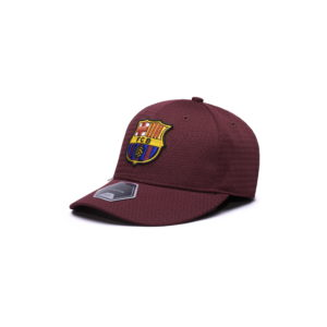 BUY BARCELONA PREMIUM BURGUNDY STRETCH BASEBALL HAT IN WHOLESALE ONLINE
