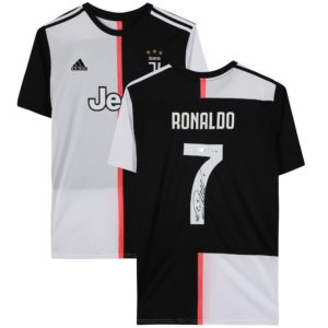 BUY AUTHENTIC SIGNED CRISTIANO RONALDO 2019-20 JUVENTUS JERSEY IN WHOLESALE ONLINE