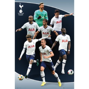 BUY TOTTENHAM 2019-20 PLAYERS COLLAGE POSTER IN WHOLESALE ONLINE