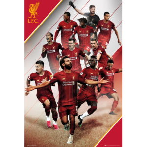 BUY LIVERPOOL 2019-20 PLAYERS COLLAGE POSTER IN WHOLESALE ONLINE