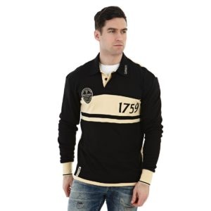 BUY GUINNESS BLACK & CREAM CLASSIC RUGBY SHIRT IN WHOLESALE ONLINE