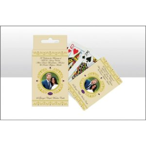 BUY ROYAL WEDDING PLAYING CARDS IN WHOLESALE ONLINE