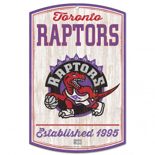 BUY RAPTORS RETRO WOOD SIGN IN WHOLESALE ONLINE