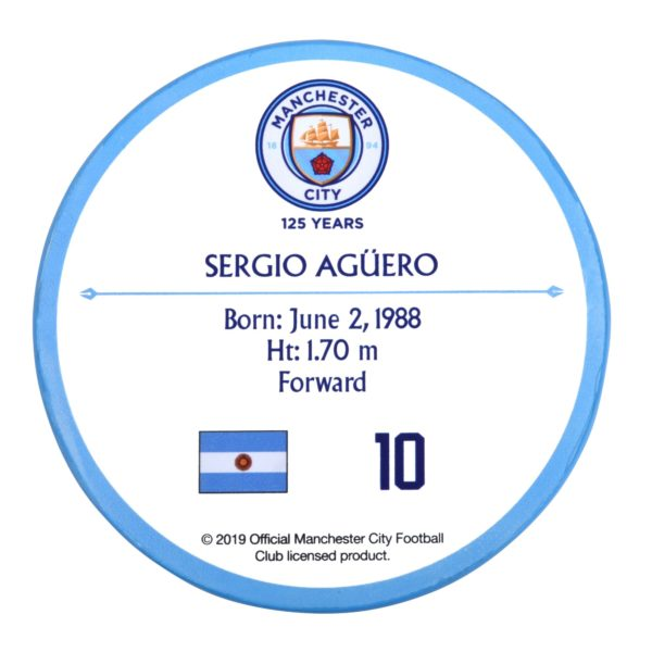 BUY MANCHESTER CITY SERGIO AGUERO SIGNABLES IN WHOLESALE ONLINE