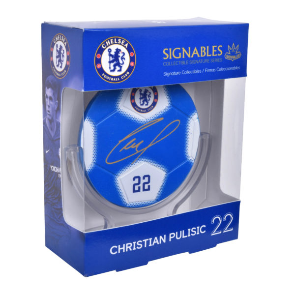 BUY CHELSEA CHRISTIAN PULISIC SIGNABLES IN WHOLESALE ONLINE