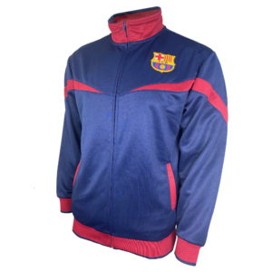 BUY BARCELONA NAVY YOUTH TRACK JACKET IN WHOLESALE ONLINE