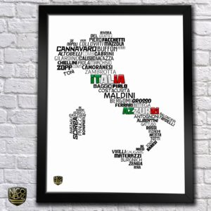 BUY ITALIA TIMELINE POSTER IN WHOLESALE ONLINE