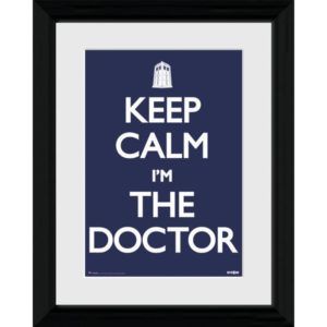BUY DOCTOR WHO KEEP CALM I'M THE DOCTOR FRAMED PRINT IN WHOLESALE ONLINE