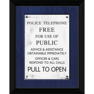 BUY DOCTOR WHO TARDIS FRAMED PRINT IN WHOLESALE ONLINE
