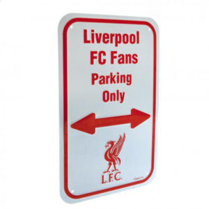 BUY LIVERPOOL FAN PARKING SIGN IN WHOLESALE ONLINE