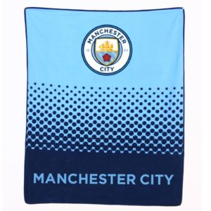 BUY MANCHESTER CITY FADE FLEECE BLANKET IN WHOLESALE ONLINE