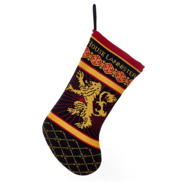 BUY GAME OF THRONES LANNISTER KNIT STOCKING IN WHOLESALE ONLINE