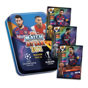 BUY 2019-20 TOPPS MATCH ATTAX 101 CHAMPIONS LEAGUE CARDS MINI TIN IN WHOLESALE ONLINE
