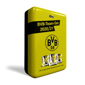 BUY 2020-21 TOPPS BORUSSIA DORTMUND BVB TEAM SET TIN IN WHOLESALE ONLINE