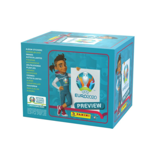 BUY 2020 PANINI EURO PREVIEW STICKERS BOX IN WHOLESALE ONLINE