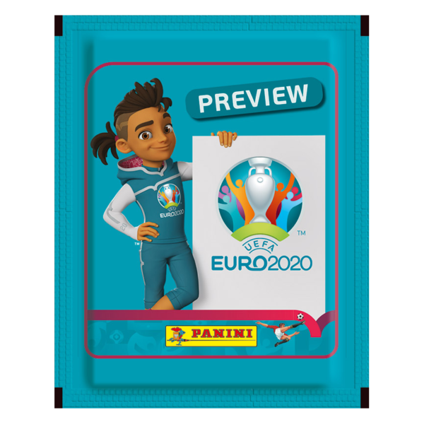 BUY 2020 PANINI EURO PREVIEW STICKERS PACK IN WHOLESALE ONLINE