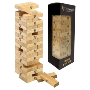 BUY GUINNESS WOODEN BLOCK JENGA PUZZLE IN WHOLESALE ONLINE