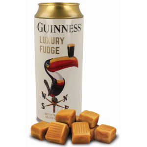 BUY GUINNESS TOUCAN BEER CAN MONEY TIN WITH FUDGE IN WHOLESALE ONLINE