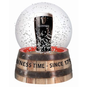BUY GUINNESS PINT WATER SNOW GLOBE IN WHOLESALE ONLINE